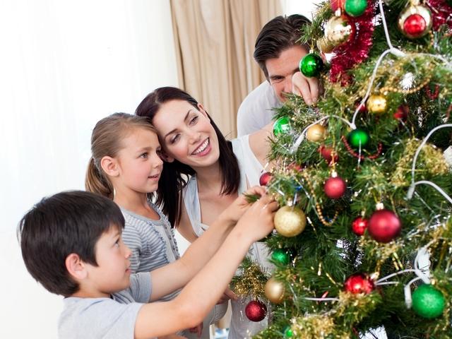 Как празднует новый год наша семья